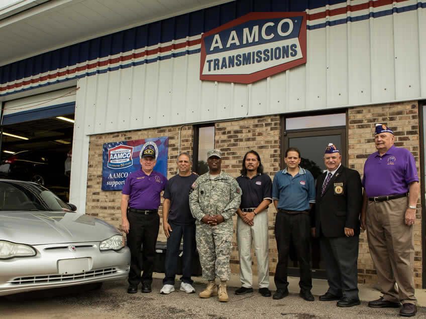 "AAMCO's ""50 Cars in 50 States"" Reaches Fort Jackson Soldier in South Carolina"