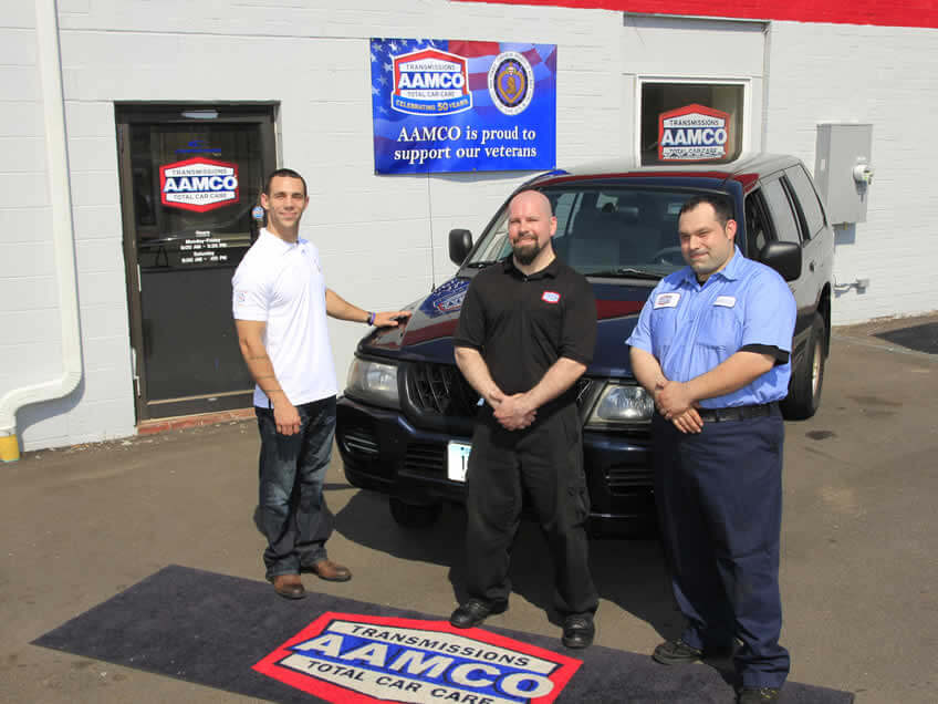 Glastonbury Veteran Enjoys Free Auto Repairs from East Hartford AAMCO Center