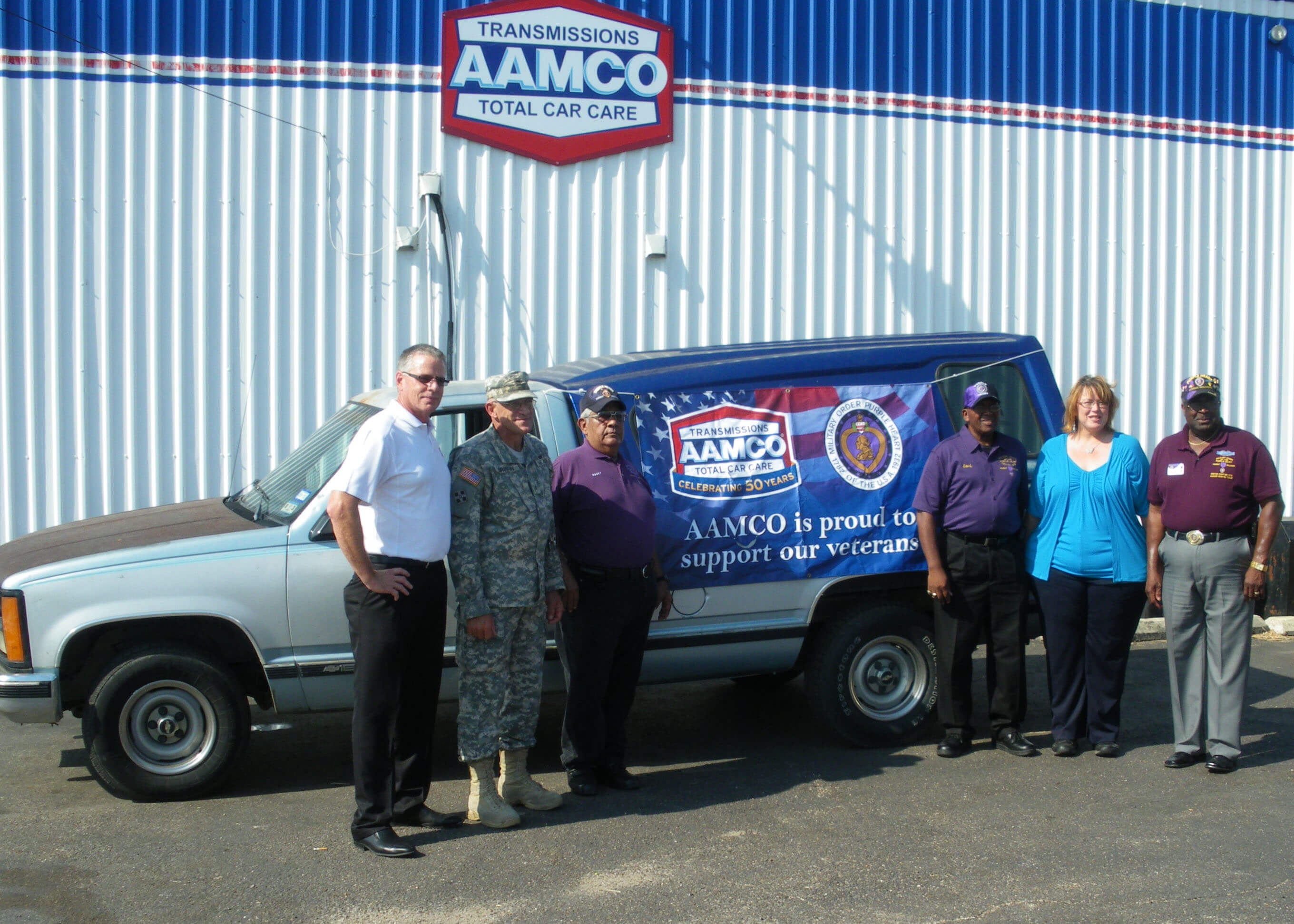 AAMCO 50 Cars in 50 States, in Texas