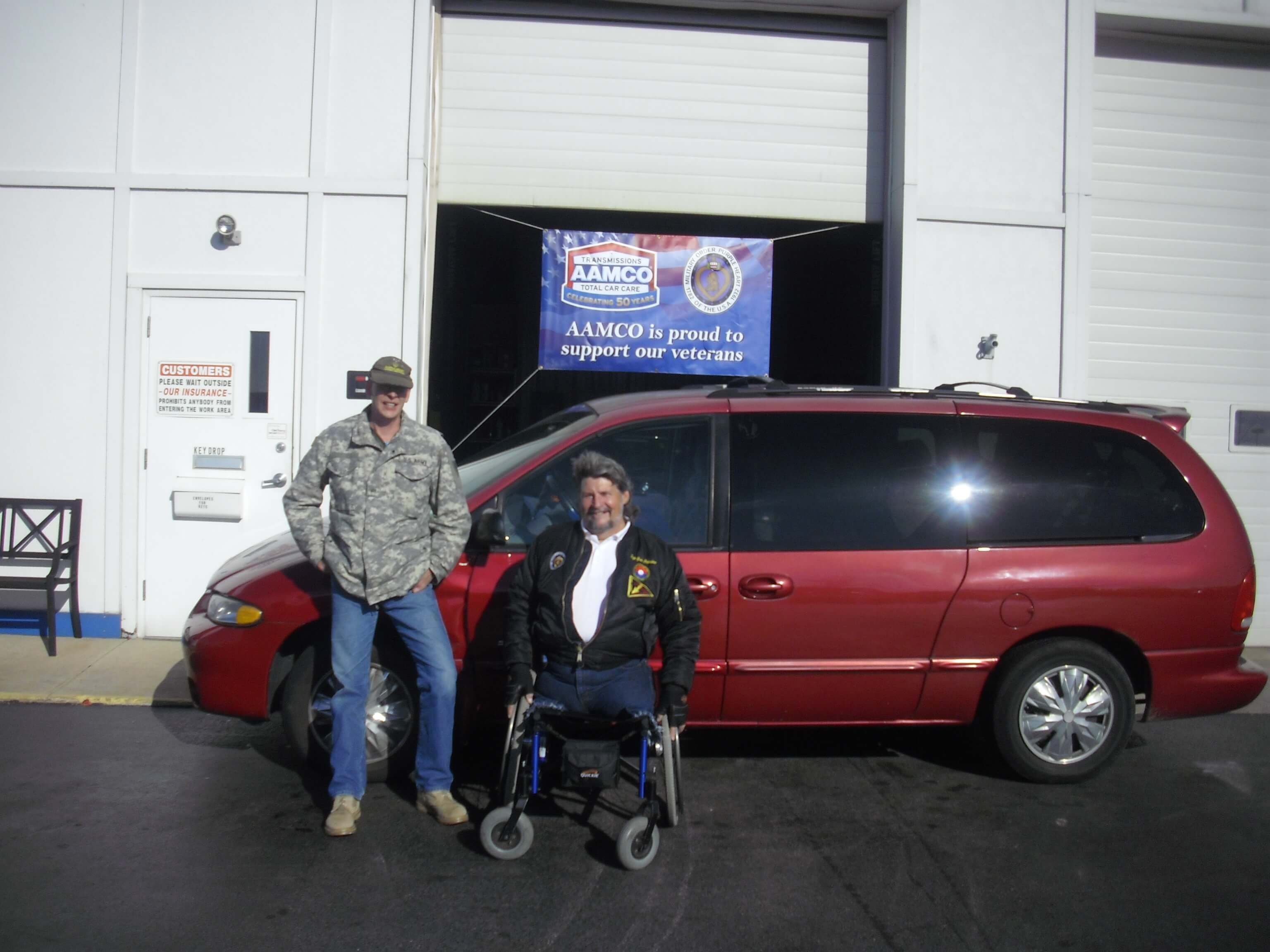 AAMCO's -50 Cars in 50 States- Reaches Indiana in time for Veteran`s Day