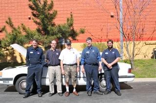 White County Vietnam War Veteran enjoys free car repairs from Lebanon AAMCO Center