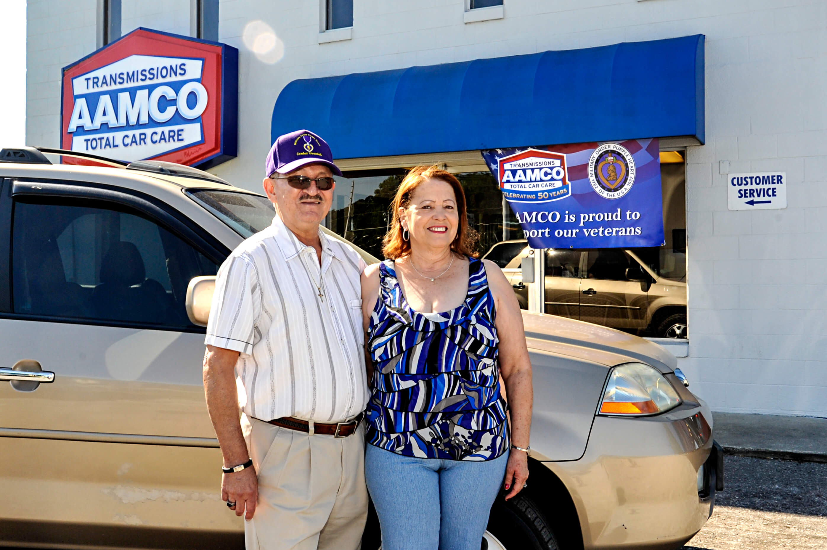 AAMCO of Orlando Provides Free Auto Repairs to Local Vietnam War Veteran as Part of 50 Cars in 50 States