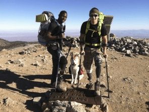 Wounded Vet Takes Courage to its Peak