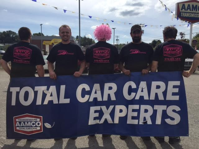 AAMCO of Pottsville, PA Helps Put the Brakes on Cancer