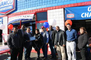 AAMCO Transmission and Total Car Care of Roselle Park, NJ Celebrates with Grand Opening and Ribbon Cutting