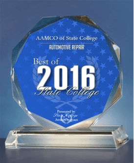 AAMCO of State College, PA Receives 2016 Best of State College Award in the Auto Repair Category