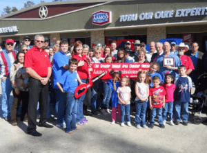 AAMCO Tomball TX ribbon cutting event