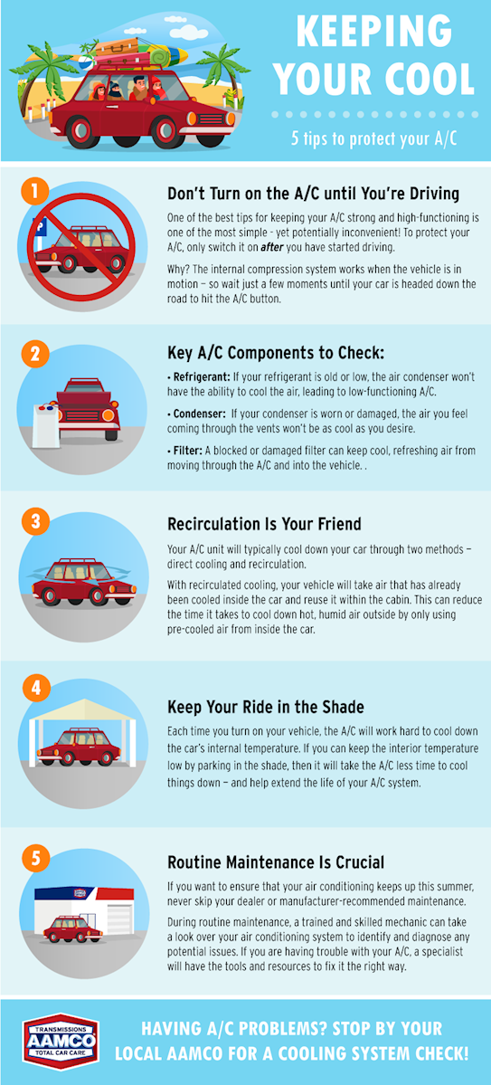 Keeping your Cool: 5 Ways to Protect Your A/C This Summer