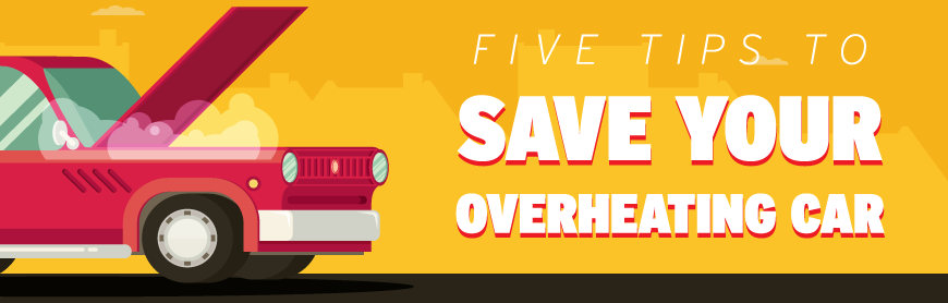 Five Tips to Save Your Overheating Car Banner