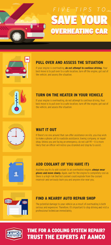 Five Tips to Save Your Overheating Car