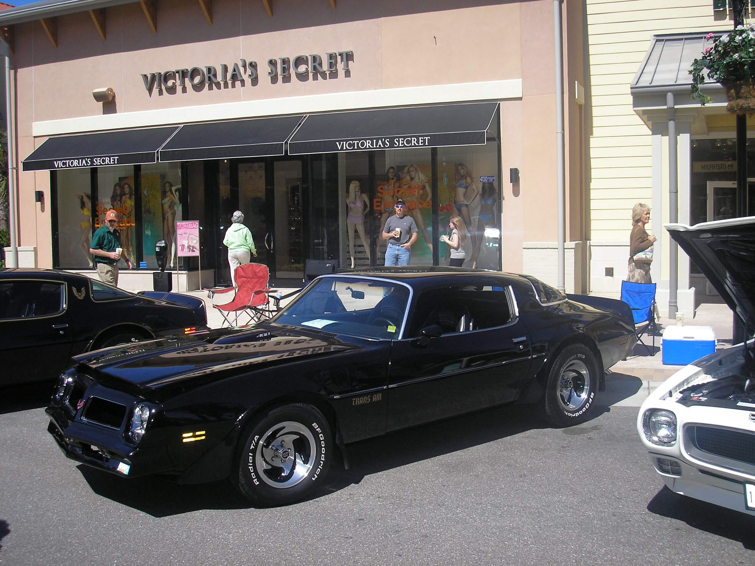 Victor Barlow and his Pontiac Trans Am