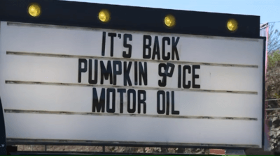 Schuylkill County Auto Shop Displays Creative Signs