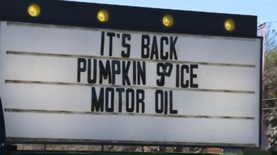 Schuylkill County Auto Shop Displays Creative Signs
